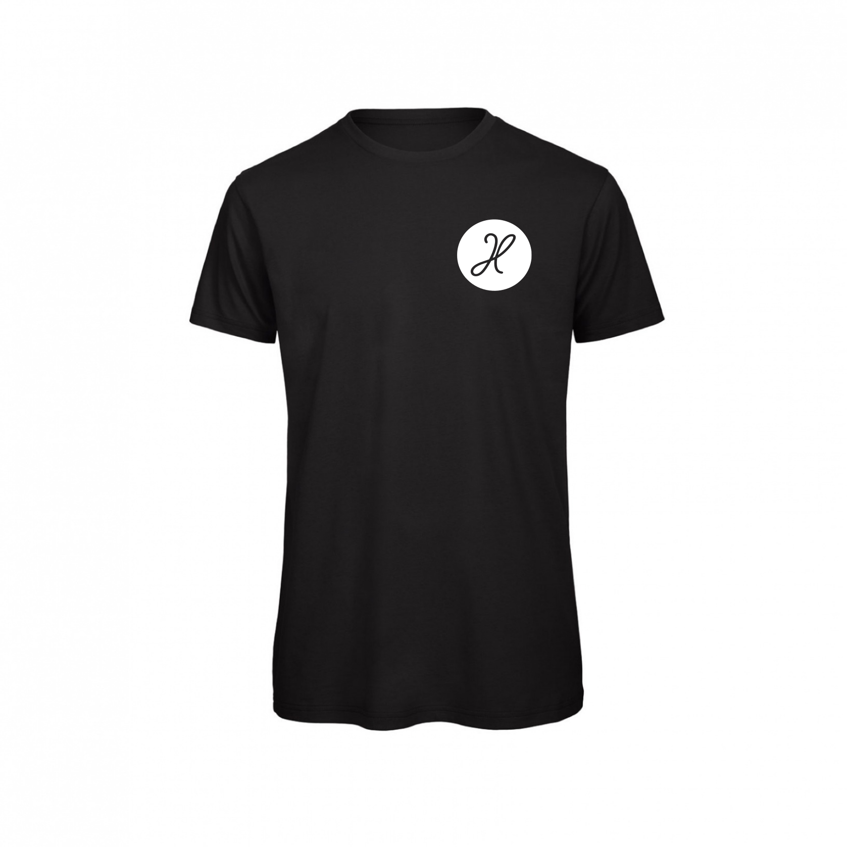 Havalter Basic Black round logo, Men