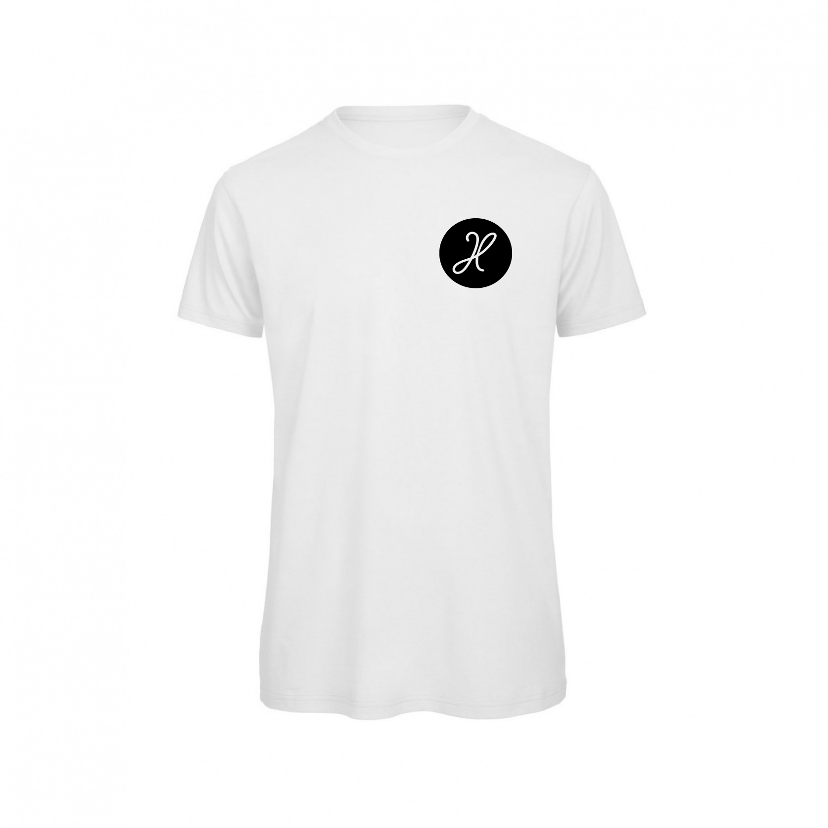 Havalter Basic White round Logo, Men