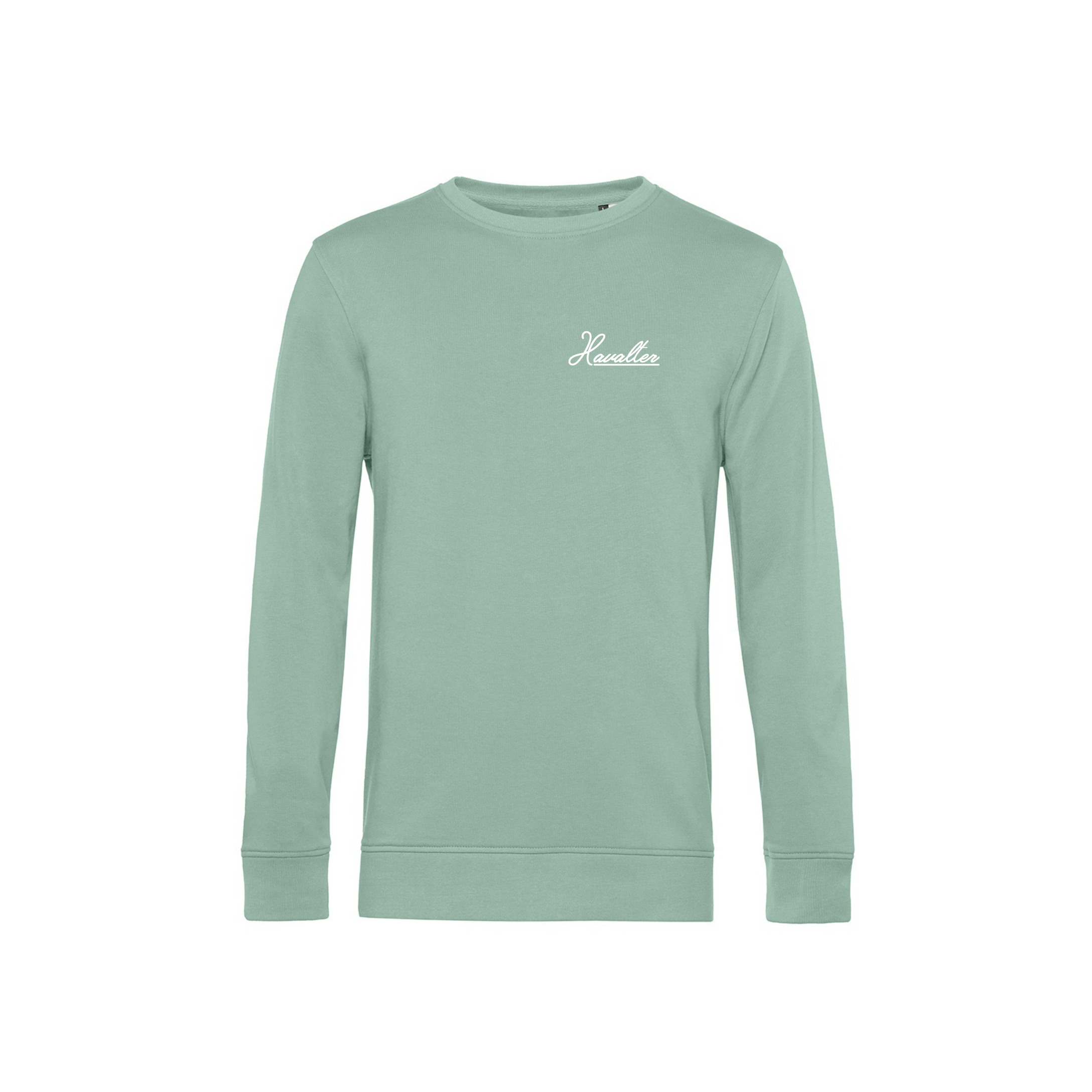 HAVALTER SWEATER MINT SMALL LOGO, UNISEX