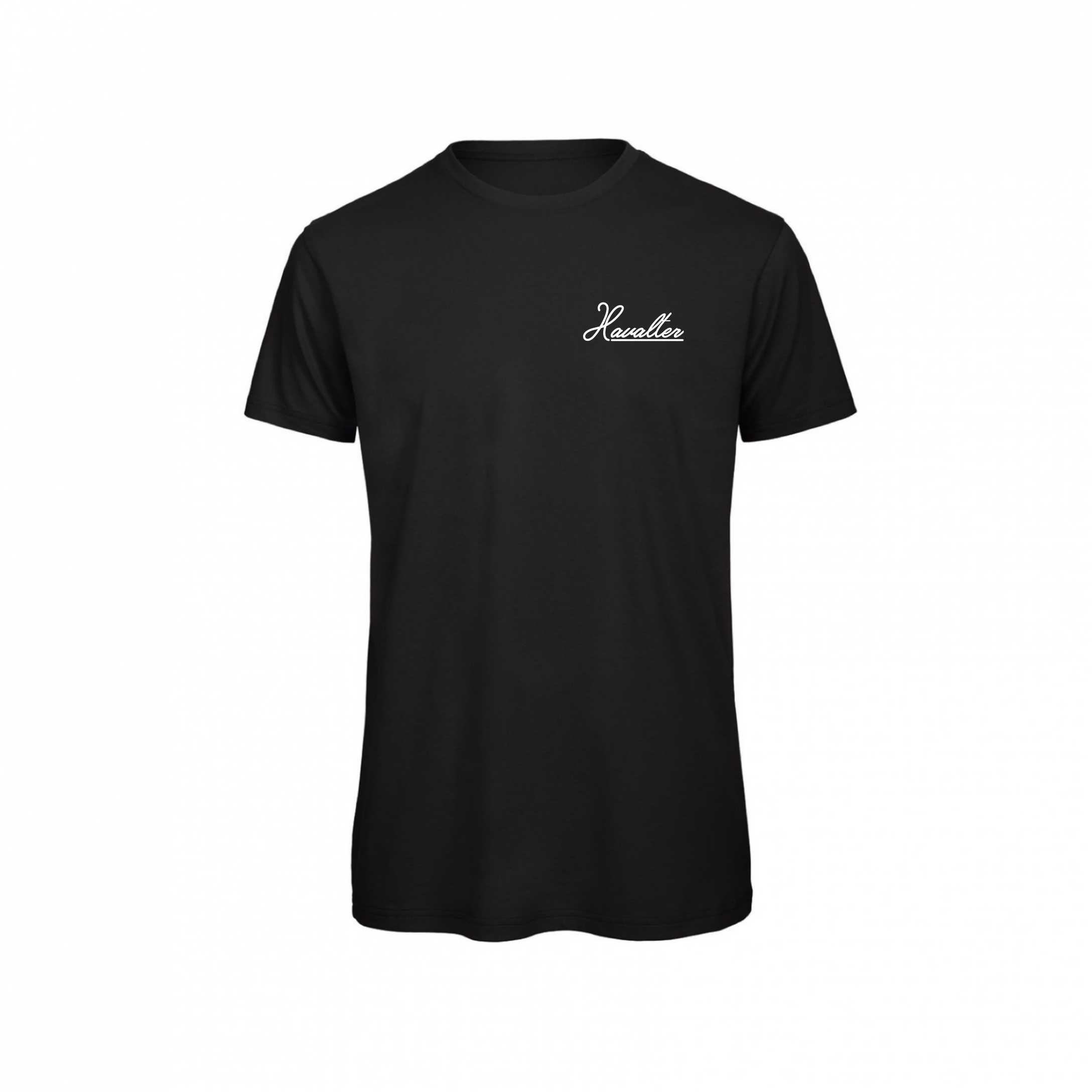 HAVALTER BASIC BLACK SMALL LOGO,MEN