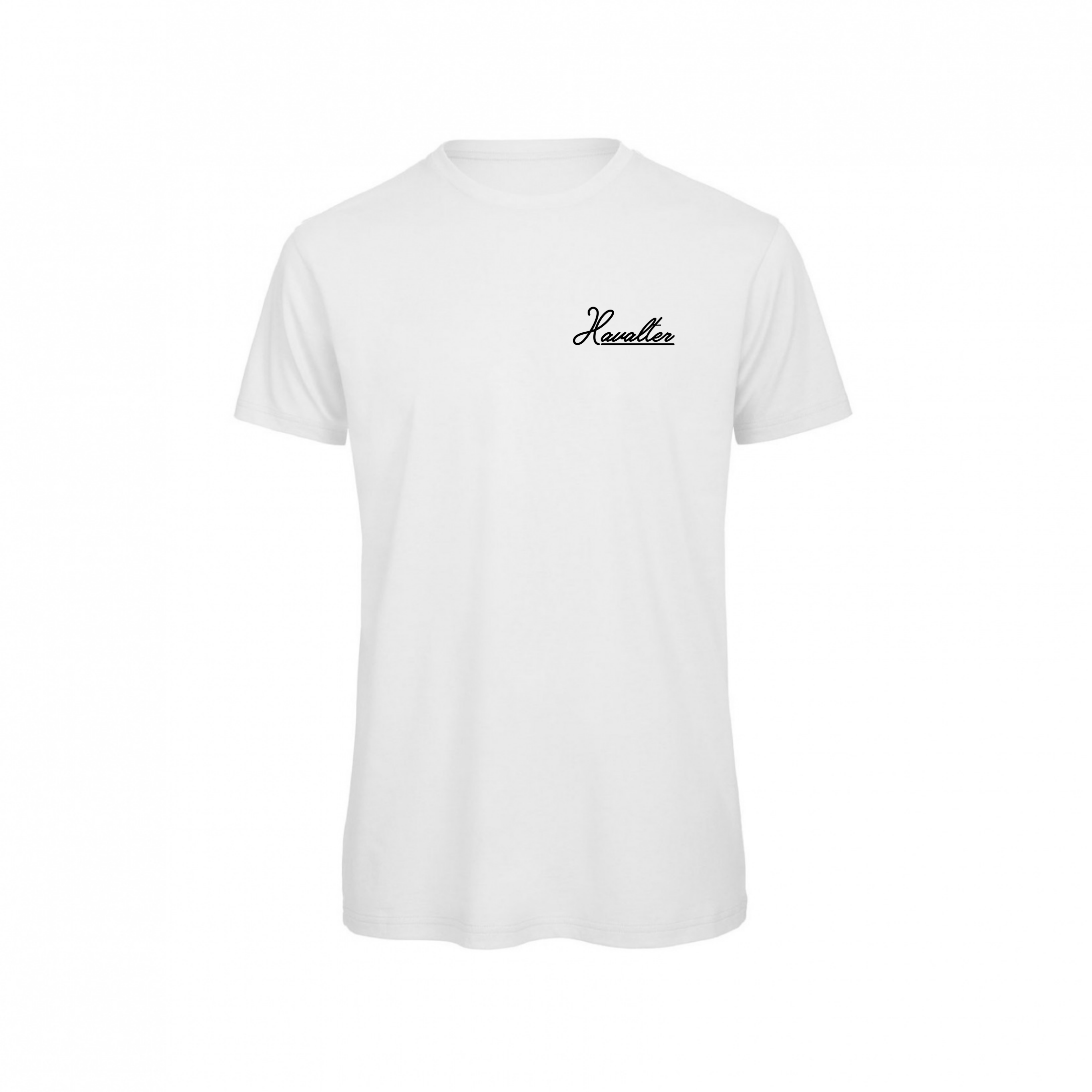 HAVALTER BASIC WHITE SMALL LOGO,MEN